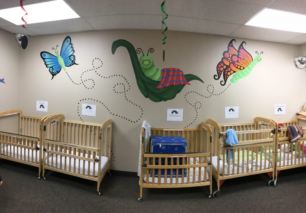 Caterpillar Clubhouse Murals | Root for Kids