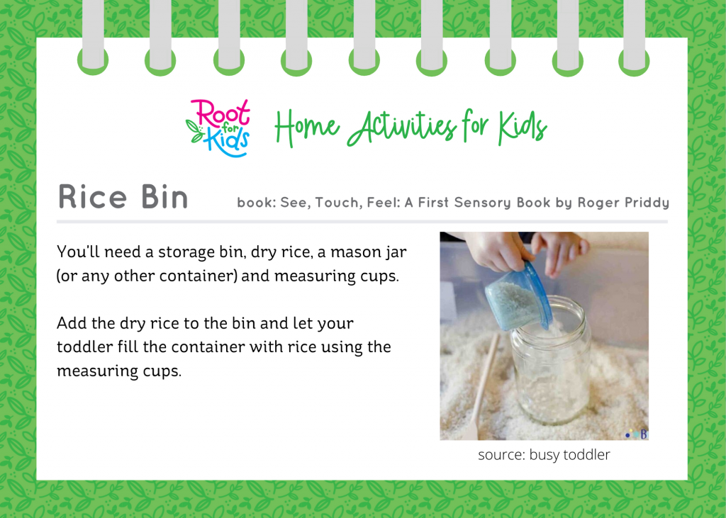 More Home Activities for Kids   Root for Kids
