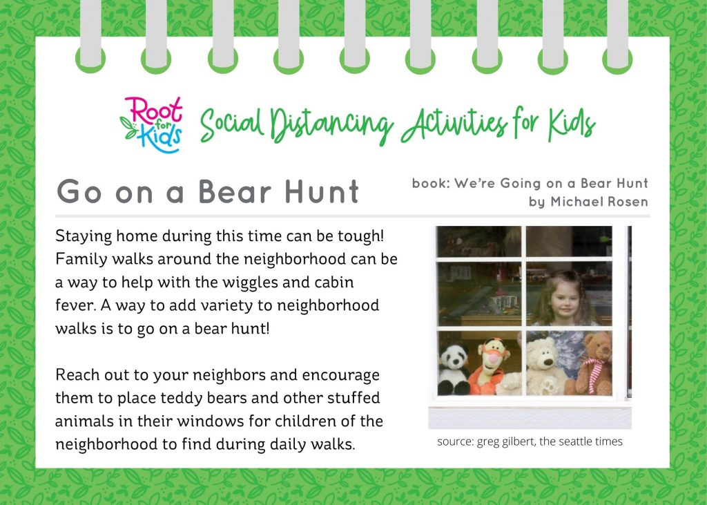 Home Activities for Kids | Root for Kids