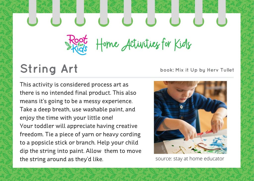 Home Activities for Kids   Root for Kids