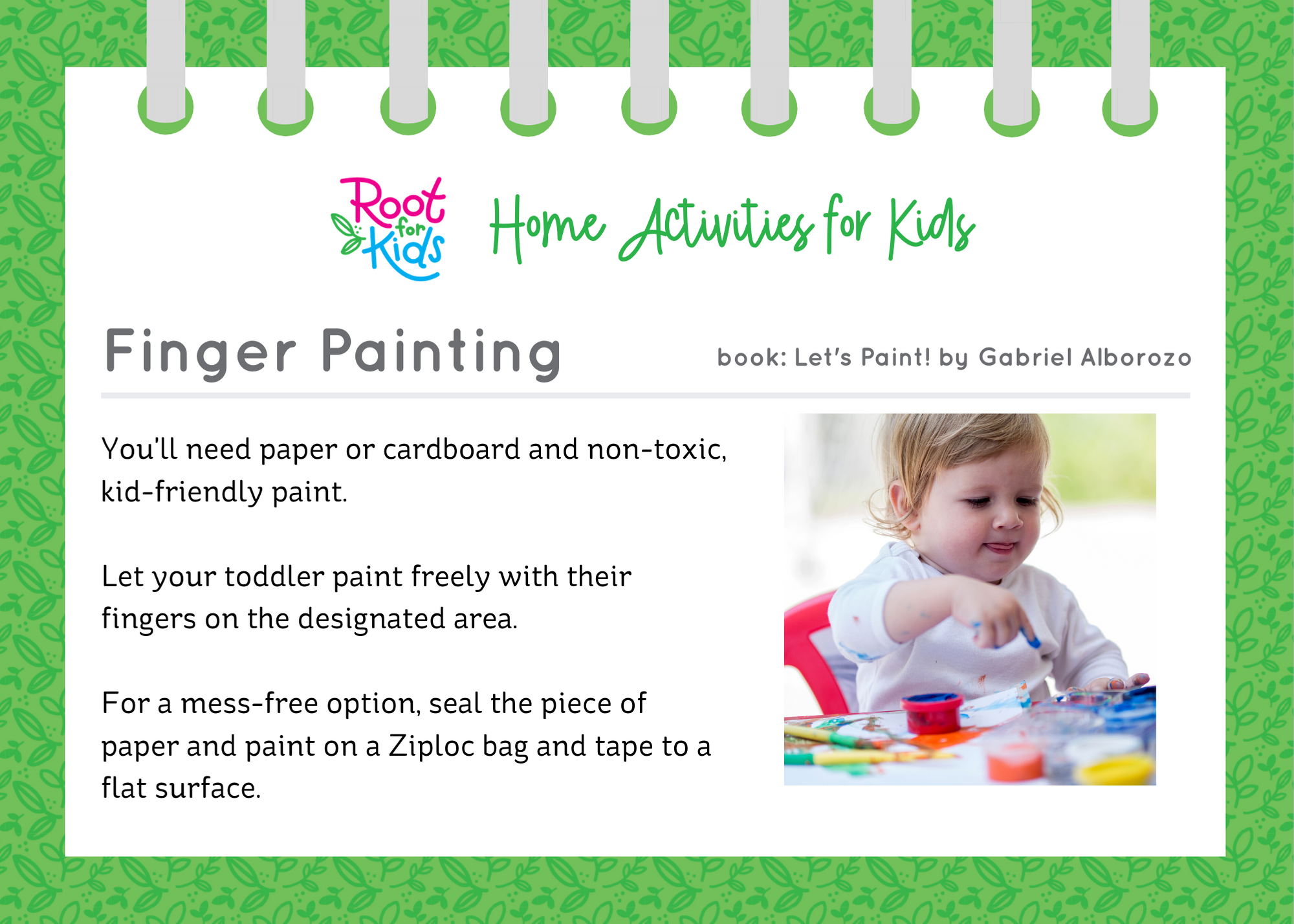 More Home Activities for Kids | Root for Kids